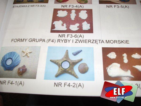 Foremki, formy do odlewów z gipsu, foremka, forma