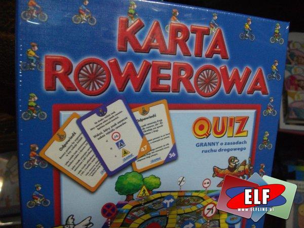 Gra Karta Rowerowa Quiz Gry W Sklepie Elf