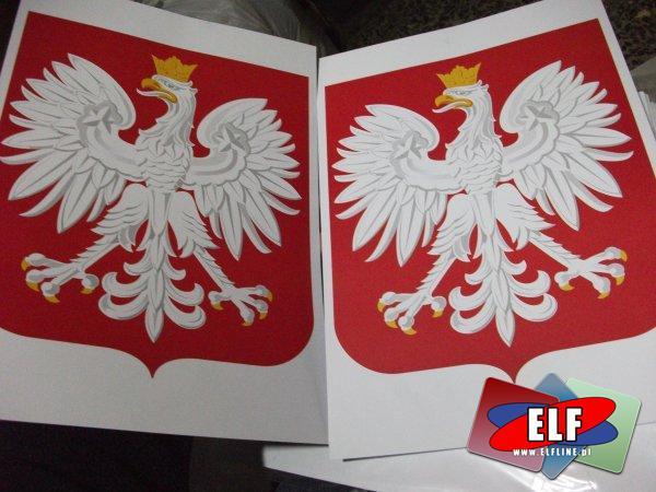 Godło formatu A3 i A4 Rzeczypospolitej polskiej, godła, orzeł, orły