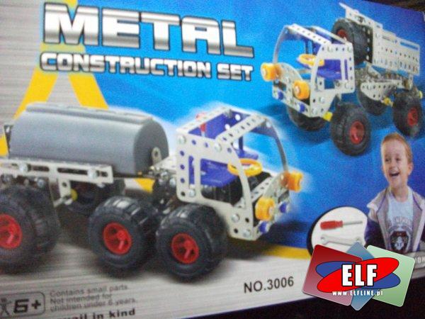 Konstruktory metalowe, konstruktor metalowy, zestawy do konstruowania, budowania modeli, elementy metalowe do skręcania i budowy pojazdów