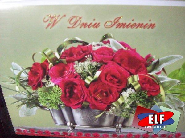 Karnet imieninowy, kartka imiennowa, na imieniny, karnety, kartki imieninowe, życzenia, życzenie
