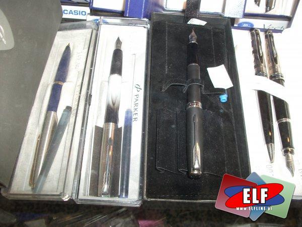 Długopisy, pióra, parker, waterman