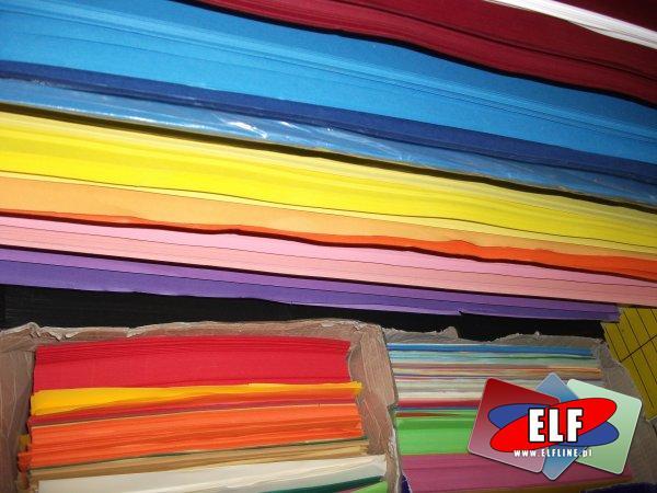Brystole 100x70cm canson barwione w masie, kolorowe, brystol barwiony w masie kolorowy