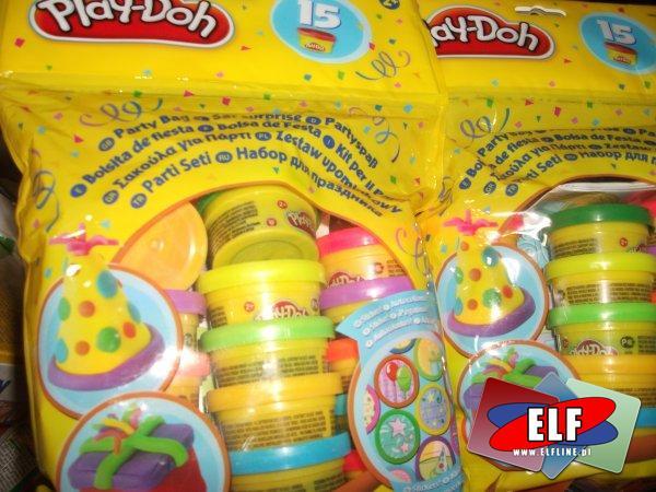Ciastolina play-doh 15 kolorów i inne