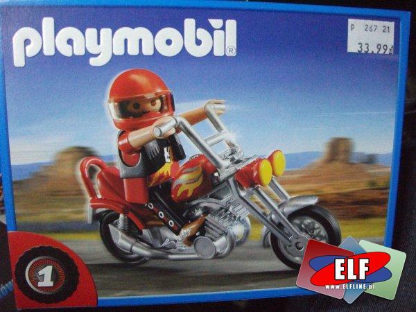 Playmobil 5113 Motocykl typu chopper