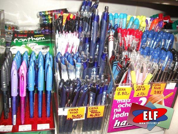 Długopisy żelowe, długopis żelowy