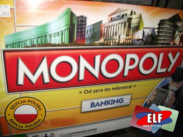 Gra monopoly banking, gry