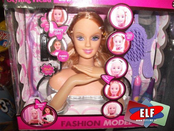 Głowa do czesania fashion model