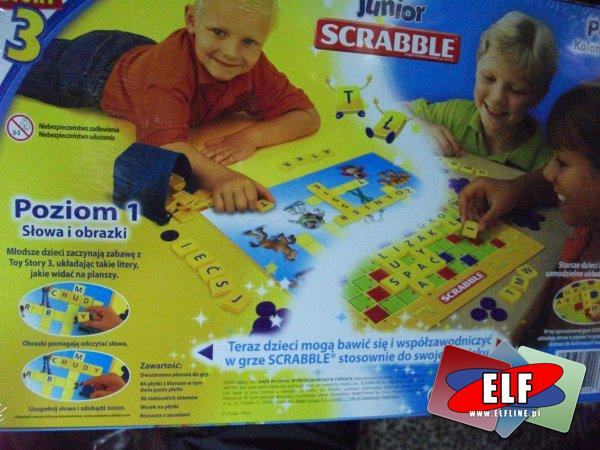 Gra scrable junior toy story 3, gry