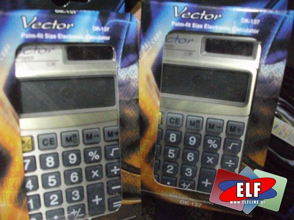 Kalkulator, kalkulatory Casio GX-12S, Citizen SDC-8001NII, SDC-011S, SDC-022S, SLD-100N,LC-210N,LC-310N, Vector CH-217, DK-135, DK-050, CH-265