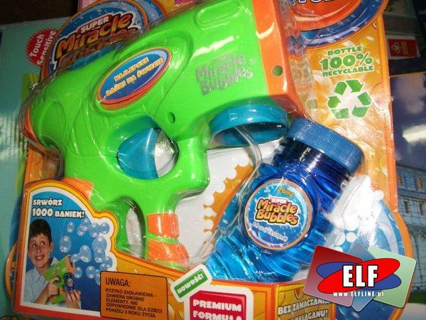 Bańki mydlane, pistolety na bańki