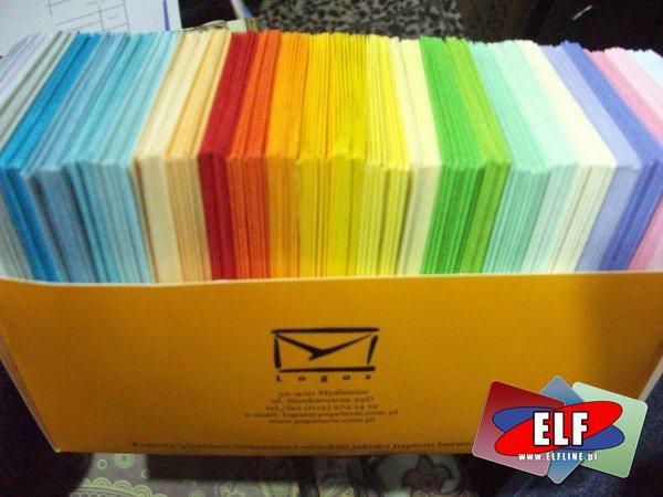 Koperty małe kolorowe A7, koperta mała kolorowa