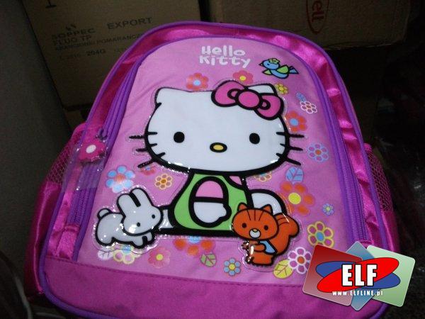 Plecaczek, plecak hello kitty mały szkolny