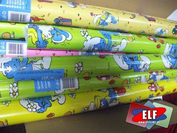 Papier ozdobny na prezenty w rolce 2m/70cm, papiery ozdobne prezentowe