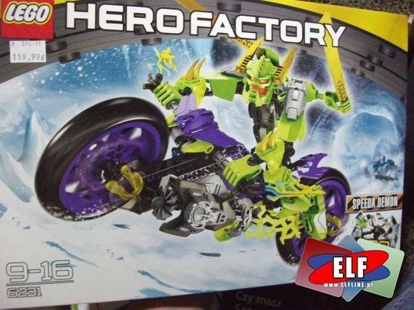 Lego hero factory, 6230, 6231, klocki