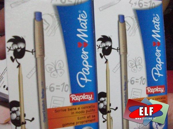 Długopis ścieralny papermate jednorazowy, długopisy ścieralne jednorazowe