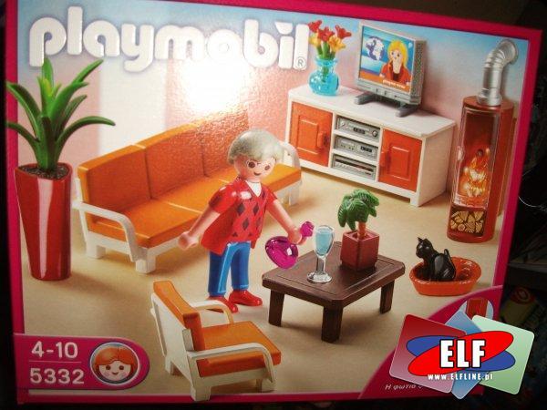 Dom dla lalek w sklepie elf pruszcz gda ski - Playmobil wohnzimmer 5332 ...
