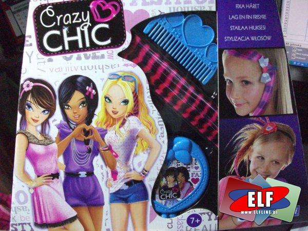 Szalony szyk, crazy chic, zestaw kreatywny, zestawy kreatywne, zestaw piękności, zestawy piękności, ozdoby do włosów, ozdoba do włosów itp.