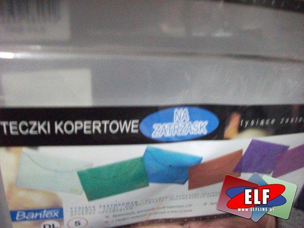 Teczki kopertowe, koperty plastikowe rożnych formatów, teczka kopertowa, koperta plastikowa, z plastiku, A4, A5, A6, DL itp.