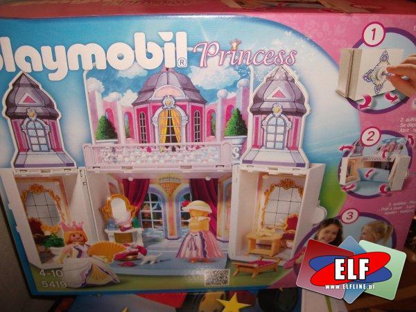 Playmobil 5419, domek księżniczki, księżniczek, księżniczka, klocki, lalka, lalki, zamek, zamki