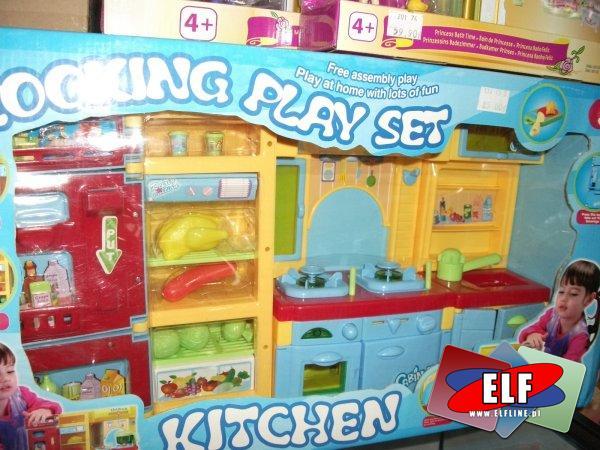 Kuchnia, zabawa w kuchnię