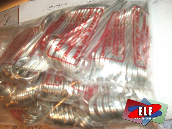 Szpilki do cen metalowe krótkie pakowane po 20 sztuk