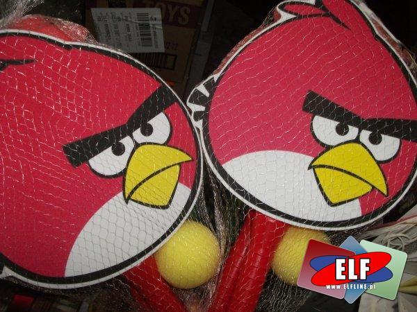 Angry birds, paletki z gąbki, paletka, rakieta, rakiety