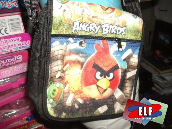 Angry birds, torba na ramię, torby
