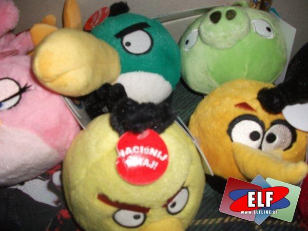 Angry birds, pluszak, pluszaki, maskotka, maskotki, z dźwiękiem