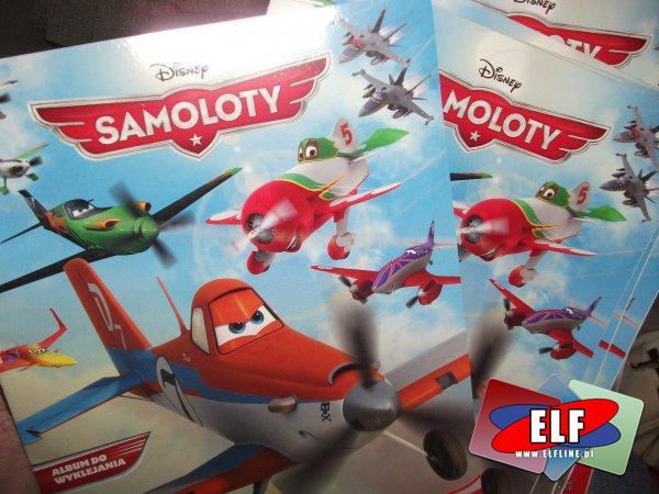 Planes, samoloty, naklejki i albumy