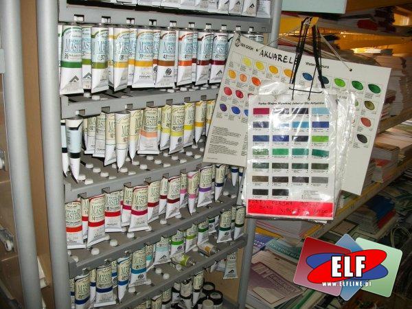 Farby olejne, farby akrylowe, decoupage
