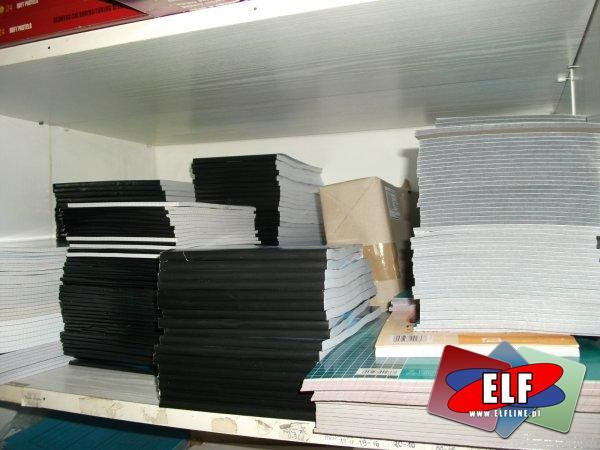 Bloki biurowe, szkolne, listowe, blok listowy, szkolny, biurowy