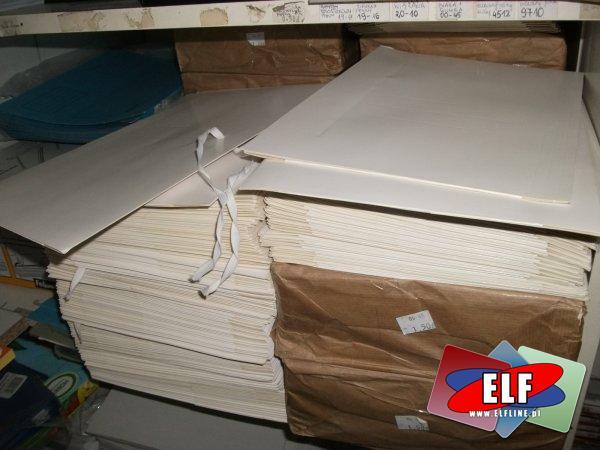 Teczki papierowe wiązane i na gumkę, skoroszyty papierowe, skoroszyt, teczka papierowa
