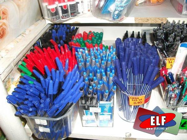 Długopisy, długopis, pisak, pisaki