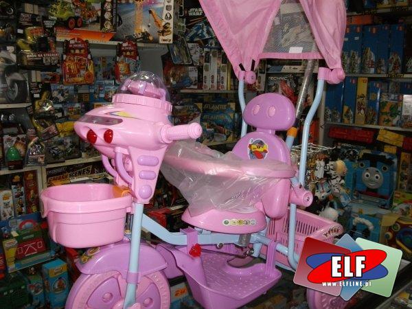 Rowerek trzykołowy, trójkołowy, rowerki