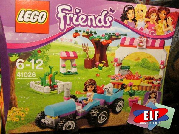 Lego Friends, 41026 Owocowe zbiory, klocki