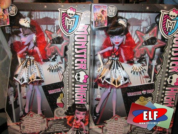 Monster High lalki, lalka, upiorne słodkości, gwiazda hollywood, lalki