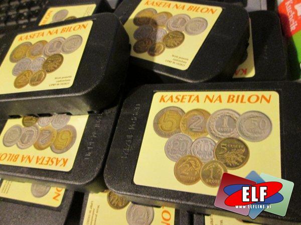 Bilonówka, bilonówki, kasetka na pieniądze, monety, kasetki