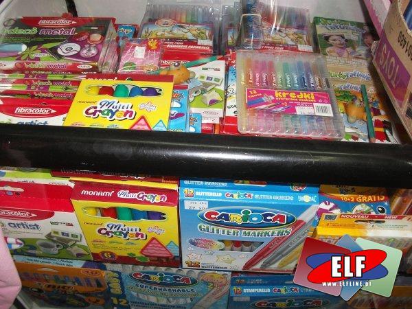 Flamastry, pisaki, markery, mazaki, szkolne, do szkoły, szkoła