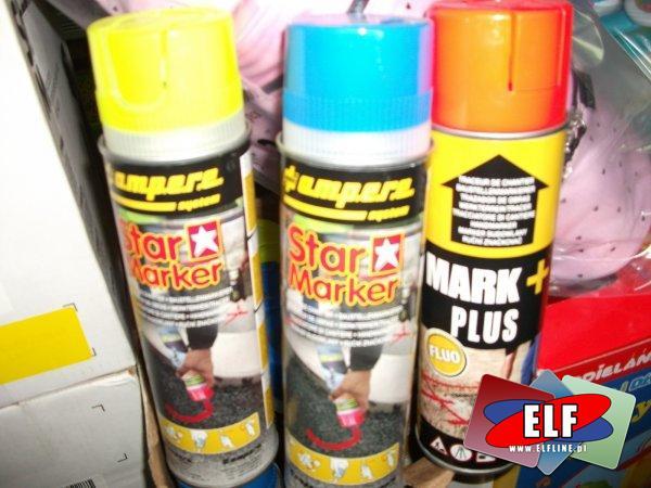 Farby geodezyjno-budowlane, geodezyjne, budowlane, soppec, star marker, farby specjalistyczne, fluorescencyjne