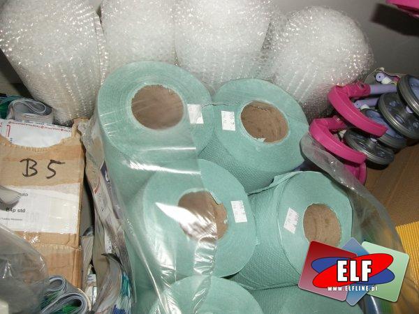 Ręczniki papierowe, folia bąbelkowa, ręcznik papierowy, folia z bąbelkami