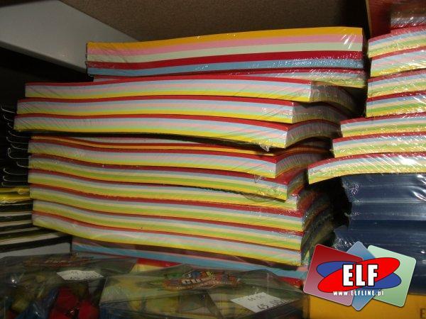 Etykiety samoprzylepne, etykieta samoprzylepna, okładki do bindowania i papier ksero A4 mix kolorów, okładka do bindowania