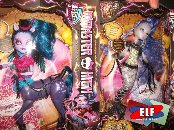 Monster High lalka, upiorne połączenie hybrydy CCM66, lalki