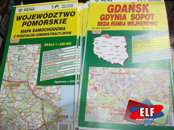 Mapy samochodowe, mapa samochodowa, drogowa, drogowe