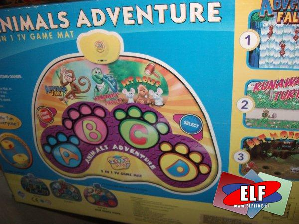 Mata gra interaktywna Animals do gry i zabawy, maty do gier i zabaw zwierzęta, gry interaktywne