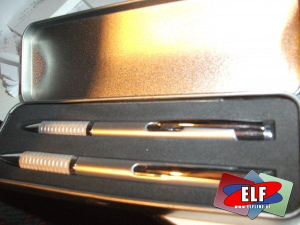 Zestaw długopis i ołówek automatyczny, długopisy i ołówki automatyczne, zestawy