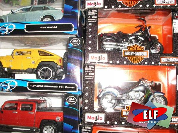 Motory i samochody metalowe, motor i samochód metalowy