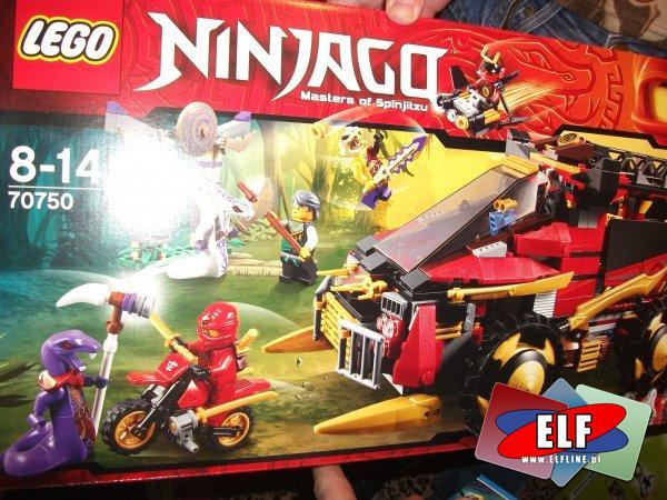 Lego Ninjago 70750 Ninja, pojazd, pojazdy