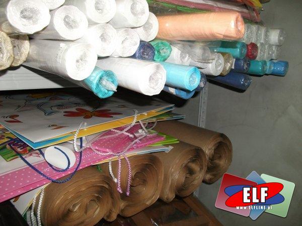 rusy papierowe, papier pakowy szary, torebki ozdobne