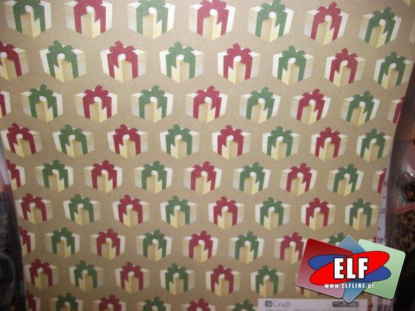 Papiery kreatywne świąteczne, papier kreatywny świąteczny